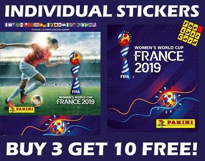 Panini Fifa Women's World Cup France 2019 Individual Stickers - Group C 176-251