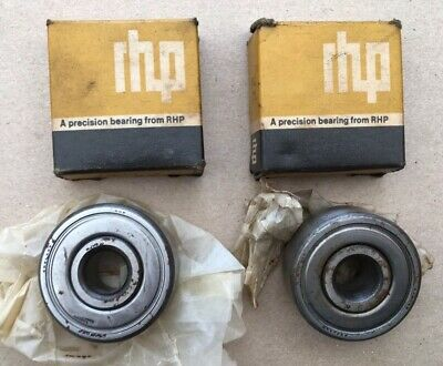 Vintage RHP Sealed Bearings MJ 1/2-2Z