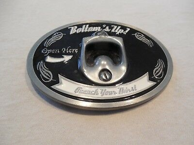 Bottom's Up, Quench Your Thirst, Bottle Opener Belt Buckle