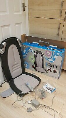 HoMedics iCush-100-2GB Immersive Audio SyncMp3 Movies Gaming Massage Seat