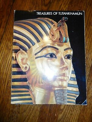 Treasures of Tutankhamun, 1976 Paperback