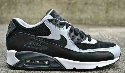 various colors 14f4d c0846 Nike Air Max 90 Essential Black Wolf Grey Size 9.5 - 10.5 2015 gray