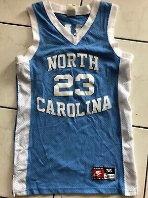 2c78ef784f231b MICHAEL JORDAN NORTH CAROLINA TAR HEELS UNC NIKE JERSEY MENS Small S 36