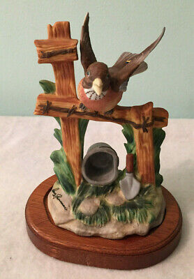 Vintage Dave Grossman Designs Signature Collection Robin Bird Figurine BB-11