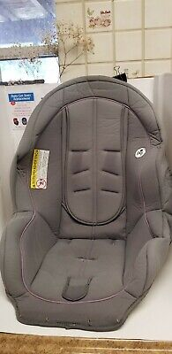 Graco Ready Ride Convertible Car Seat Cover Cushion Replacement Gray.