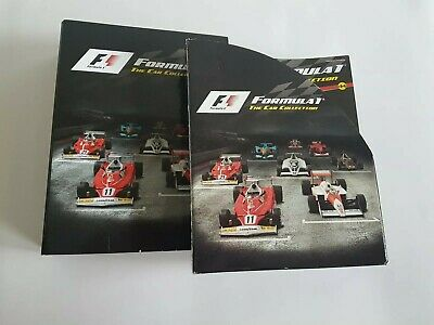 Formula 1 The Car Collection Part 1 - 44 Magazines Only Great Condition