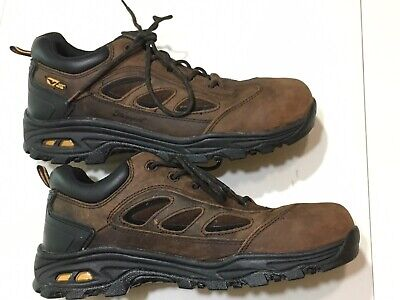e09f7d64a1c THOROGOOD MENS BROWN Sport Safety Toe Oxford Work Shoes Sz 11 W - EUC