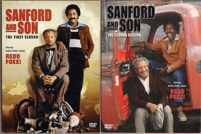 SANFORD AND SON  ~  Complete Seasons ONE and Two        DVD Boxed Sets
