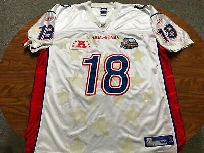 online retailer b037c e666e MENS AUTHENTIC REEBOK Peyton Manning Colts Pro Bowl Football Jersey Size 58