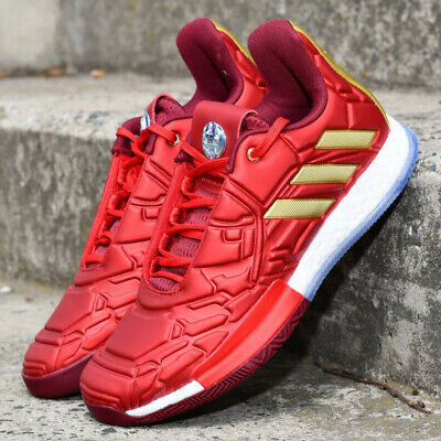 huge selection of 47102 c35b2 Adidas Harden Vol. 3 Ironman EF2397 The Marvel Avengers Mens Basketball  Shoes