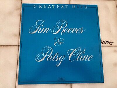JIM REEVES & PATSY CLINE~Greatest Hits~LP~RCA~BLACK~LABEL~STEREO~NEAR~MINT