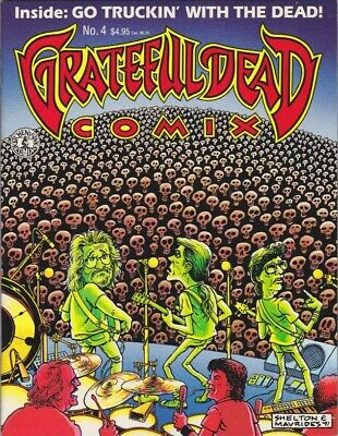 Grateful Dead Comix No.4 (1992) Kitchen Sink Press Good Condition {68840B46}