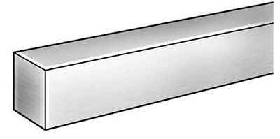 """Square Stock 304 Stainless Steel 1/2 x 1/2 x 72""""  Solid Square  6 ft. Long Bar"""