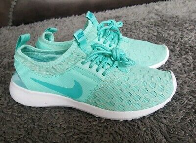 New Womens Older Girls Teal - white Nike Juvenate running shoes size 4 EU 37