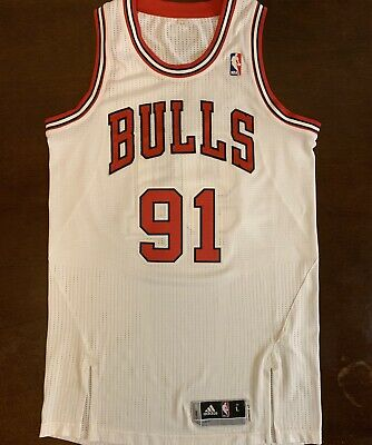 6c83b3771 RARE CHICAGO BULLS NBA baseball jersey 66 1966 throwback Basketball ...