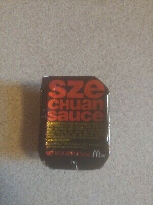 Mcdonalds Szechuan Sauce 2018 Limited Edition New - Rick & Morty