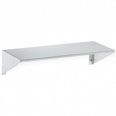 New Bradley 756A Washroom Shelf 150Mm Deep - Silver 600Mm