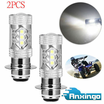 FOR Yamaha Banshee 350 Super White Headlights LED Bulbs 80W Upgrade 2 Pack