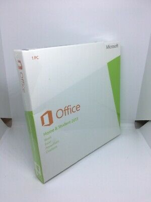 Microsoft 1 PC Office Home and Student 2013 - BRAND NEW