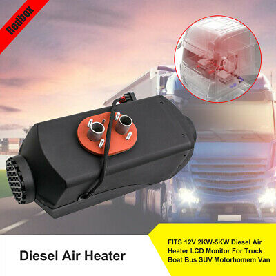 Warm Winter 12V 5KW Diesel Air Heater Planar fits trucks Van Boats Knob