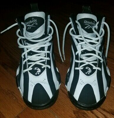 4df335857c5 REEBOK SHAQNOSIS - Black White - V53185 - Shaq Attaq Retro - Men s ...