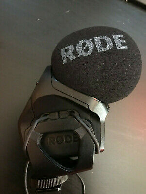 RODE Stereo VideoMic Pro On-Camera Rycote Microphone DSLR Stereo PRO-R