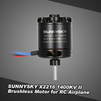 SUNNYSKY X2212 980KV II 20A ESC Brushless Motor for RC Fixed-wing Airplane Y9D8