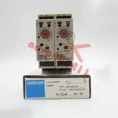 1PC New Omron Time Relay H3DE-S1