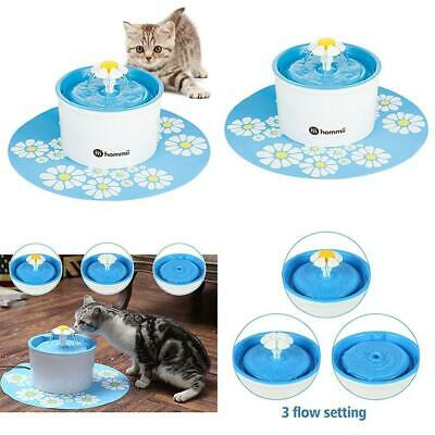 Hommii Pet Drinking Water Fountain for Cats Dogs Bowl with Replacement...