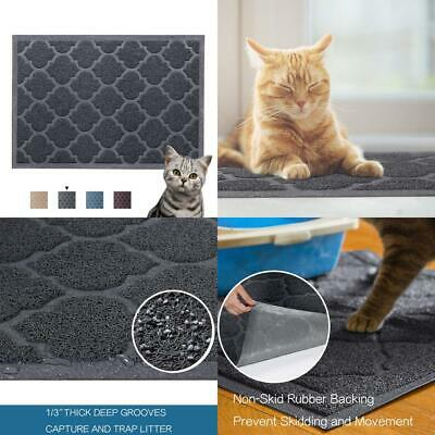H.Versailtex Premium Cat Litter Mat - XL Super Size (60 x 90 cm) - Best Brown