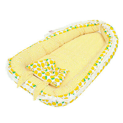 Portable Folding Bed Baby Pillow Sleep Cushion Cot Crib Newborn Nest Bed Mattres