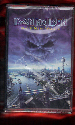 Iron Maiden-Brave New World Musicassetta Mc Mc7 K7 New Sealed