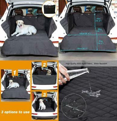 SUV Car Boot Liner For Dogs, Heavy Duty Pet Seat Covers Bumper Protector...