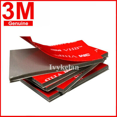 3M VHB 4991 Gray Double-sided Acrylic Foam Mount Tape 100mmx50mm Thick 2.3mm