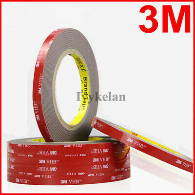 3M VHB 4991 Gray Double-sided Acrylic Foam Mount Tape 3 Meter/roll, Thick 2.3mm