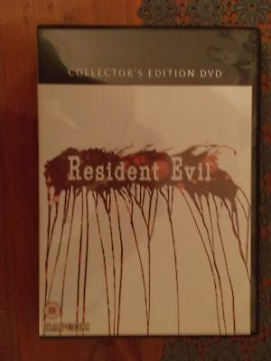 Resident Evil collector's edition dvd