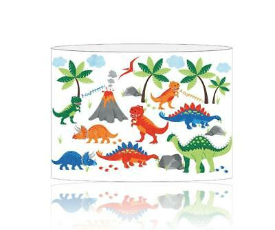 (036)  Dinosaurs Lampshade / Ceiling Light Shade Kids Free P+P