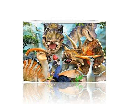 (011)  Dinosaurs Lampshade / Ceiling Light Shade Kids Free P+P