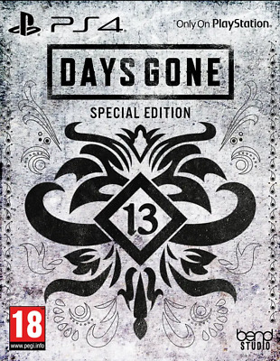 ° NEUF / NEW °Days Gone Special edition Steelbook Edition PS4 + Pre-Order DLC