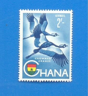 Ghana.2'.Crowned Cranes.unmounted Mint Stamp