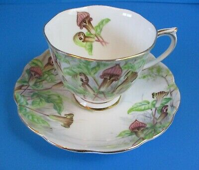 Royal Albert Cup & Saucer Older Than 1936 Jack In The Pulpit Excellent Condition
