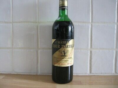 Chateau La Tour Martillac 1974- Grand Cru Classe- Graves- Bordeaux- N11