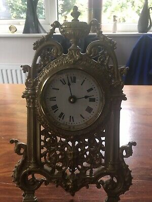 Reproduction French Louis XV Style Mantel Clock