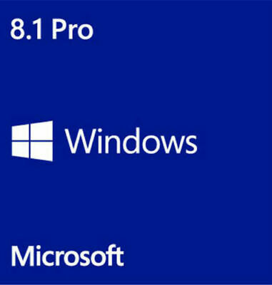 Windows8.1 Pro Professional 32/64 bit Product Key Activation License Code