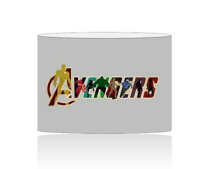 (078) Avengers Lampshade / Ceiling Light Shade Kids Free P+P