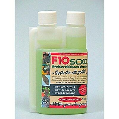 F10SCXD 200ml Veterinary Disinfectant/Cleaner-Zoos/Breeders-Dogs,Cats,Small...