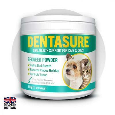 DENTASURE® Dog & Cat Plaque Off & Tartar Removal. Fights Bad Breath, Gets...