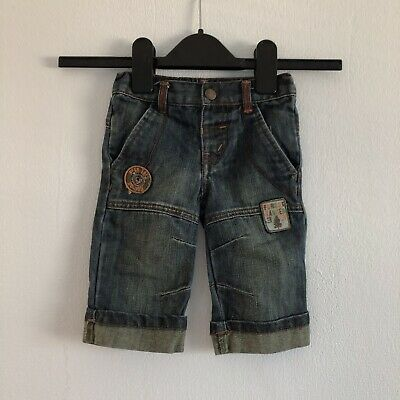 Adams Baby Boys Denim Jeans Age 3-6 Month With Patches