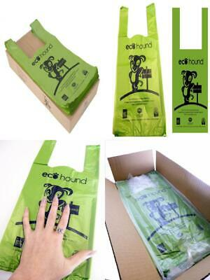 Ecohound Eco Friendly Dog Waste Bags 1000 / Poo Unscented Large Olive Green,