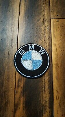 Patch Iron-On or Sew-On BMW Car Logo Embroidered Applique